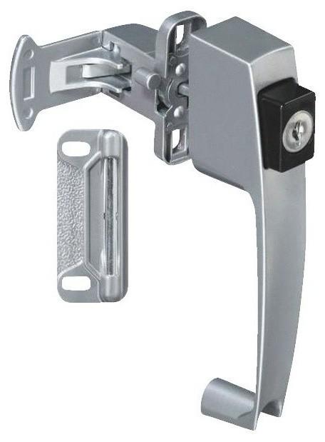 Push-Button Key Lock - Contemporary - Screen Doors - by Hipp Modern Builders Supply