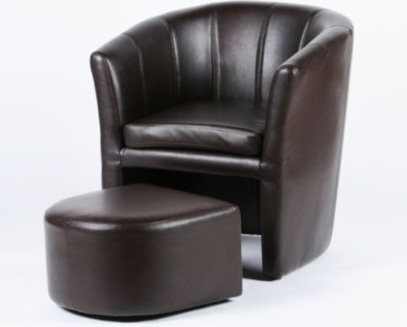 Tub Chair Amp Ottoman Traditional Armchairs And Accent