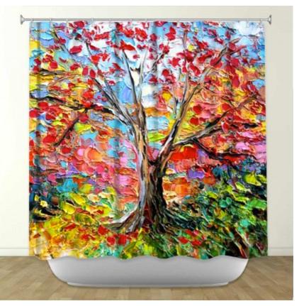 Bright Colored Shower Curtains Mobroi Com