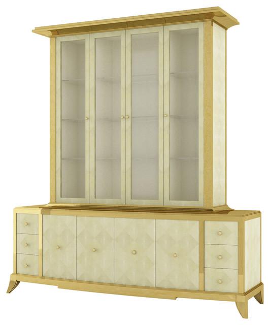 modern breakfront cabinet 3