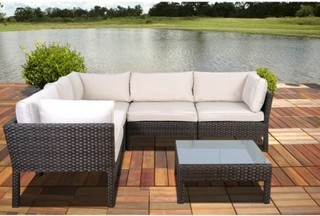 seating furniture set contemporary outdoor lounge sets by target
