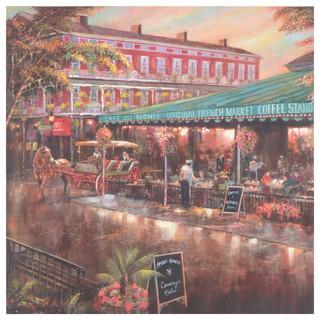 Caf Du Monde Canvas Art Print Traditional Prints And