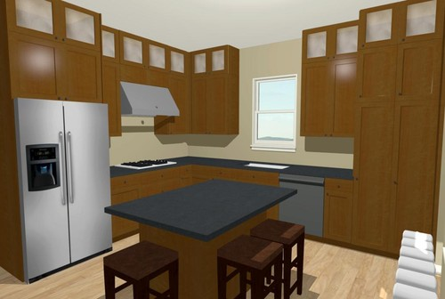 9 foot ceiling dilemma cabinets stacked to ceiling or for 6 ft kitchen ideas