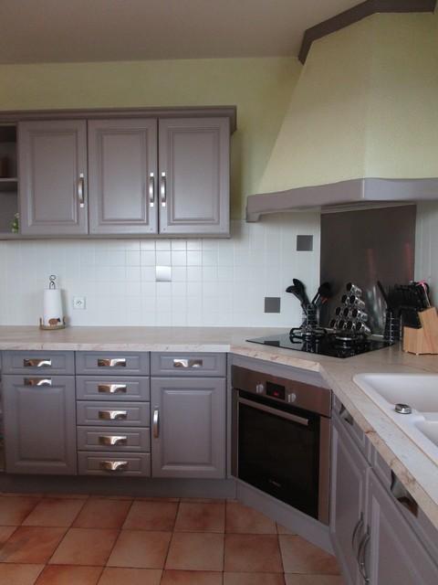 home staging pour une cuisine. Black Bedroom Furniture Sets. Home Design Ideas