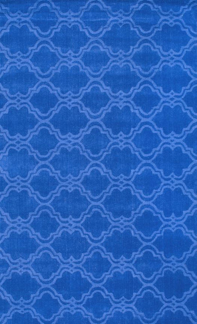 Nuloom Hand Tufted Tuscan Vs169 Rug Blue 5 X 8