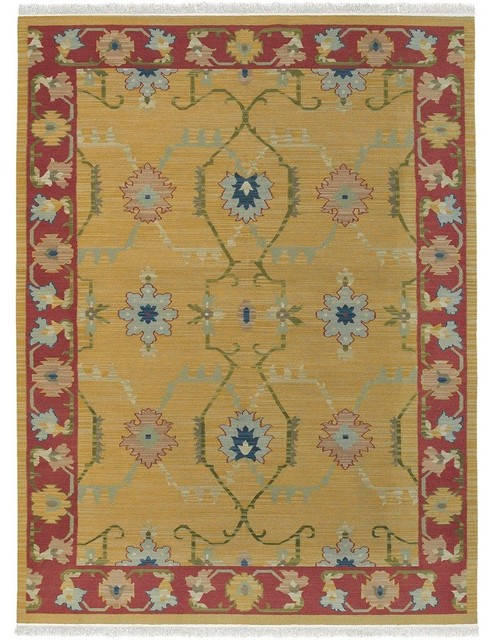 Surya nmd703 23 nomadic kilim southwest lodge hand woven for Decor international handwoven rugs