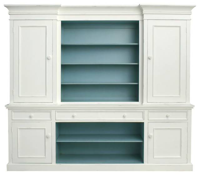 Clarke Hutch - Traditional - China Cabinets And Hutches - charlotte - by Coach Barn