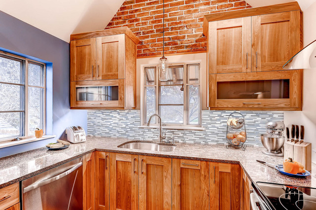 Sink And Countertops Traditional Kitchen Denver By