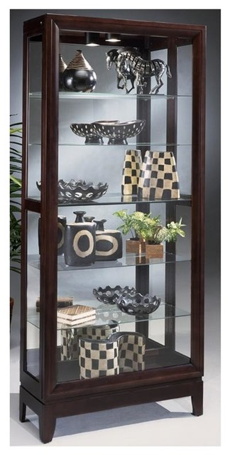 Philip Reinisch Lighthouse Urbane - Wood Curio Cabinet - Contemporary - China Cabinets And ...