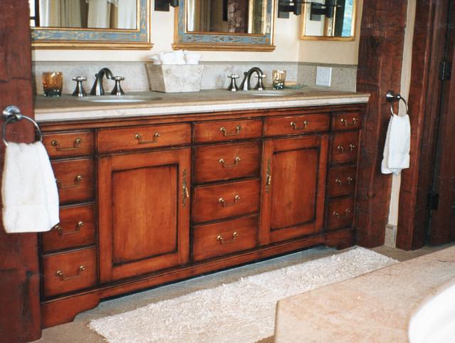 Bathroom Cabinets by Mitchel Berman Cabinetmakers traditional-bathroom