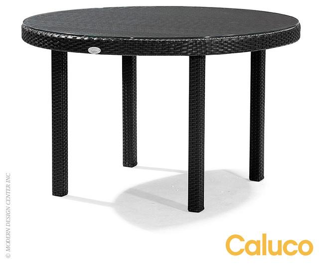 Caluco dijon round dining table modern dining tables los angeles by allmodernoutlet - Table jardin moderne dijon ...