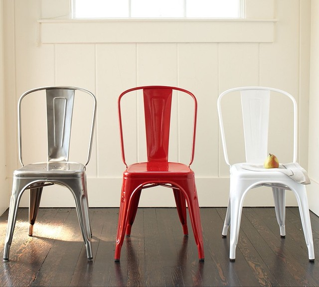 galvanized bistro chair 2