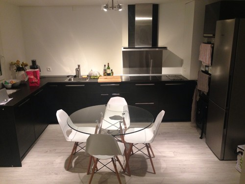 Dilemme deco salon cuisine ouverte for Amenagement salon 30m2