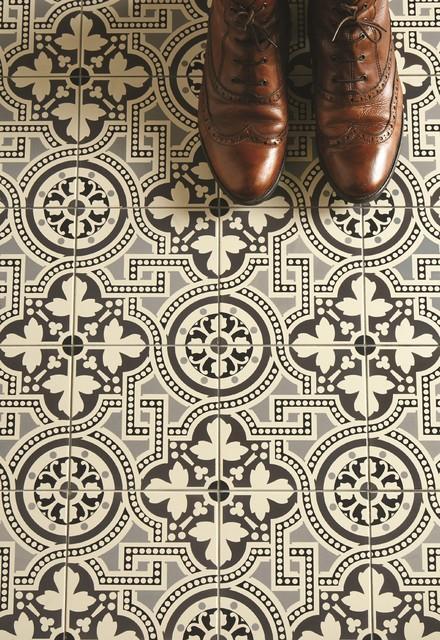 Salisbury victorian floor tile victorian wall floor for Victorian style kitchen floor tiles