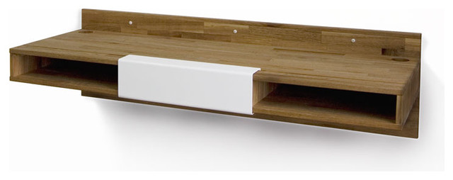 Mash Studio's Wall Mounted Desk - Contemporary - Desks And Hutches - boise - by Simply Grove