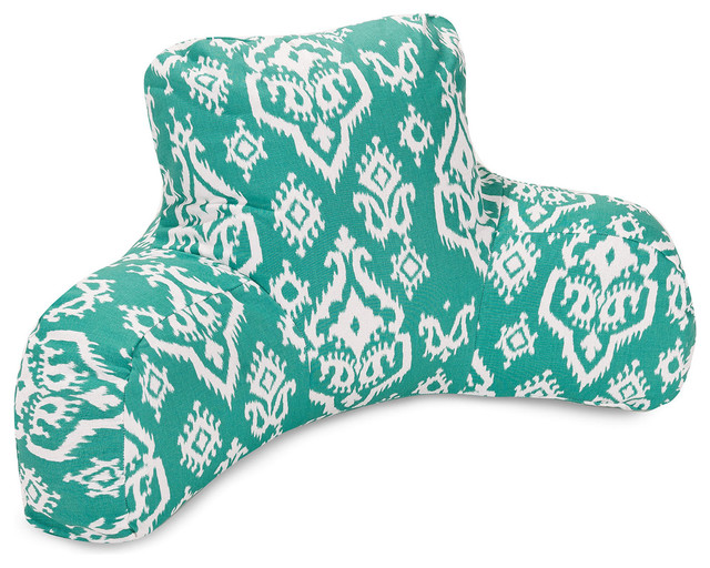 Decorative Reading Pillow : Rana Reading Pillow - Eclectic - Decorative Pillows - by Dot & Bo