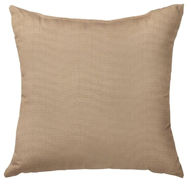 Modern Outdoor Lumbar Pillows : Sunbrella Canvas Heather Beige Standard Outdoor Lumbar Pillow - Contemporary - Outdoor Cushions ...