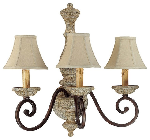 Capital Lighting Saddlebrook Traditional Wall Sconce X-234-BA3561 - Traditional - Wall Sconces ...