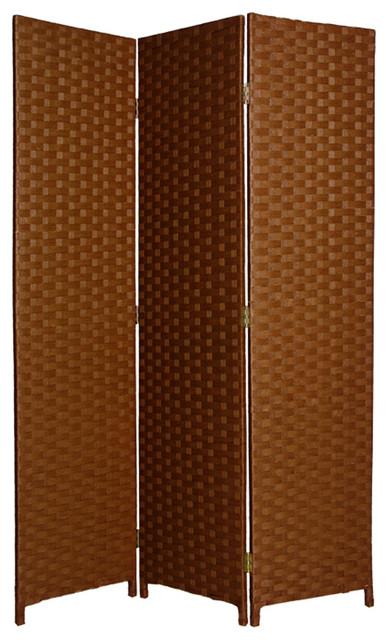 3 Panel Eco Friendly Handmade Floor Privacy Screen