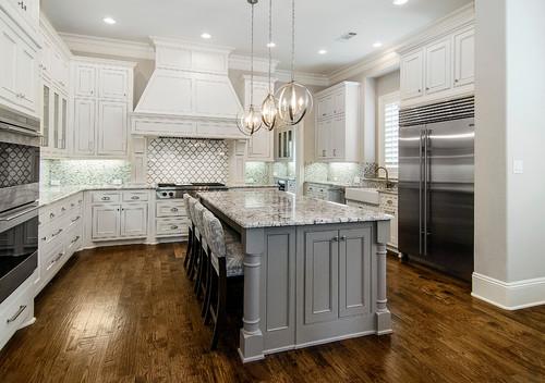 Monte Cristo Granite Kitchen Countertop Design Ideas