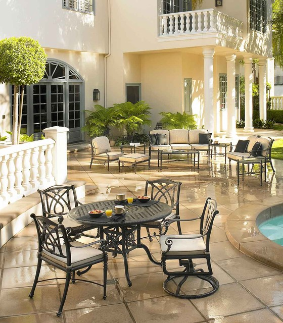 Patio Furniture Traditional Outdoor Dining Sets sacramento by Green A