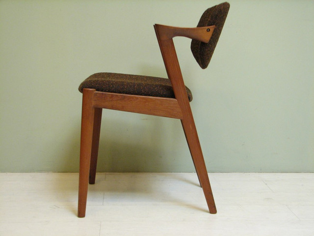 Mid century modern chairs by danish designer kai kristiansen modern dining chairs los - Danish furniture designers ...
