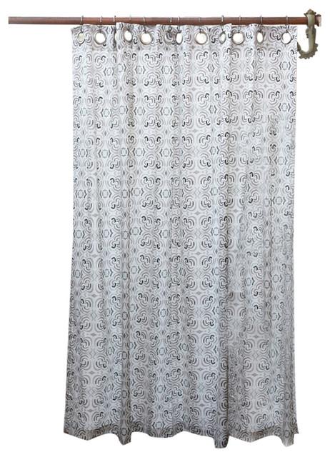 Milkyway shower curtain farmhouse shower curtains by