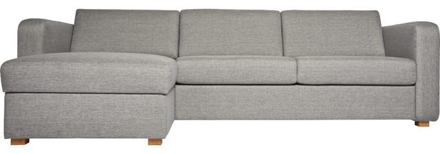 Porto petit canap lit en tissu avec angle r versible et for Petit canape moderne