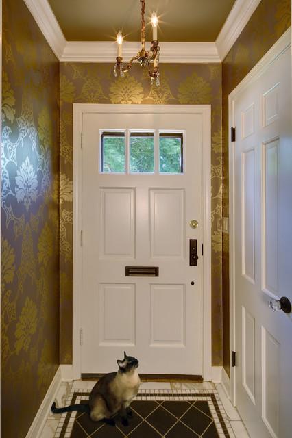 Vestibule - Traditional - milwaukee - by Leslie Dohr Interior Design ...