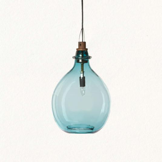 Glass Jug Pendant Tropical Pendant Lighting By Terrain