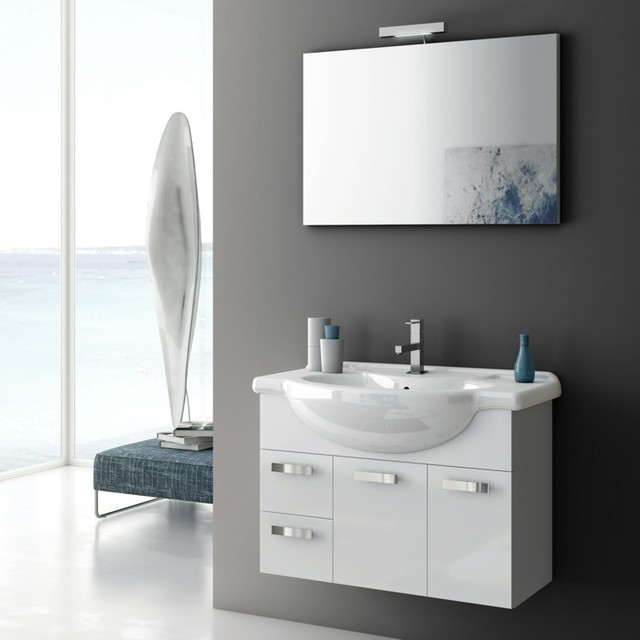 32 Inch Bathroom Vanity Set Contemporary Bathroom Vanities And Sink Consoles