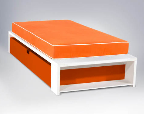 Alex Platform Bed Twin Size Modern Kids Beds By Ducduc