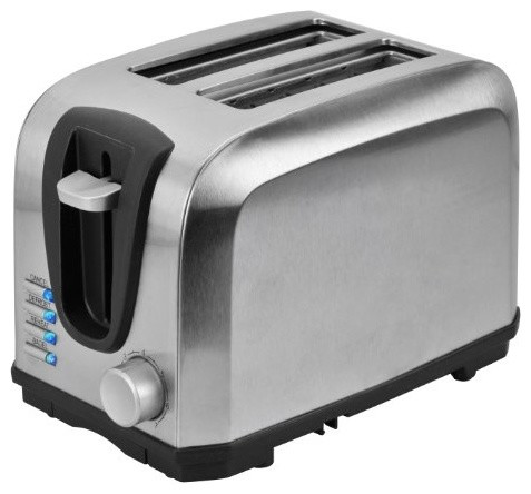 kalorik 2 slice stainless steel toaster modern. Black Bedroom Furniture Sets. Home Design Ideas