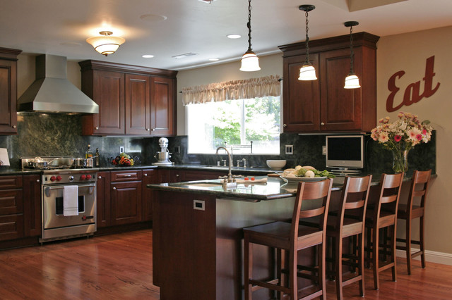 Updated traditional for Traditional kitchen meaning