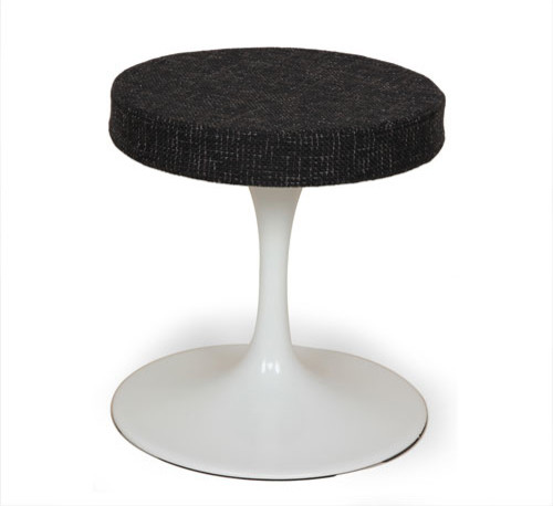 Stilnovo 18 Inch Black Stool Contemporary Bar Stools