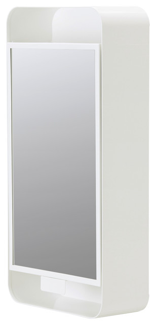 GUNNERN Mirror cabinet with 1 door - white - Modern - Medicine Cabinets - by Ikea UK