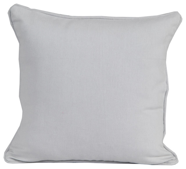 Plain Grey Filled Cushion Modern Scatter Cushions