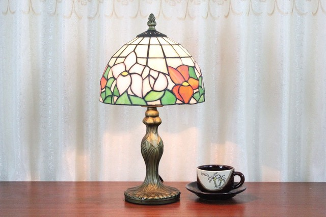 Custom Stained Glass Desk Table Lamp For Living Room Traditional Table La