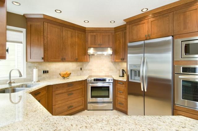 Artisan custom kitchen design and cabinets traditional kitchen for Ak kitchen cabinets calgary