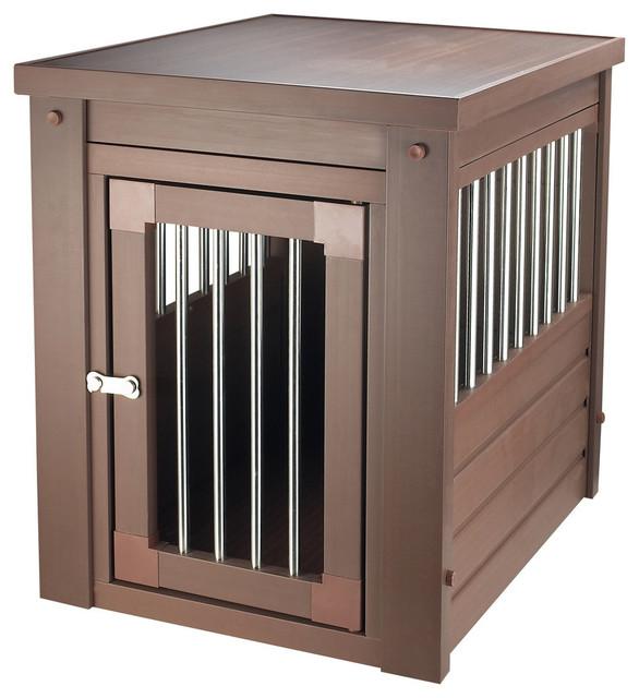 Ecoflex habitat 39 n home russet indoor crate medium for Design indoor dog crate