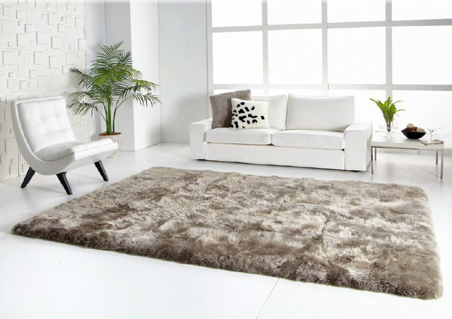 Sheepskin Rugs Square Or Rectangle Modern Other Metro By Ultimate