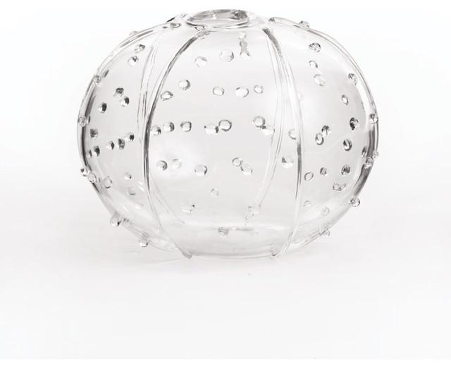 Sea Urchin Glass VaseRoundBeach StyleVasesSan
