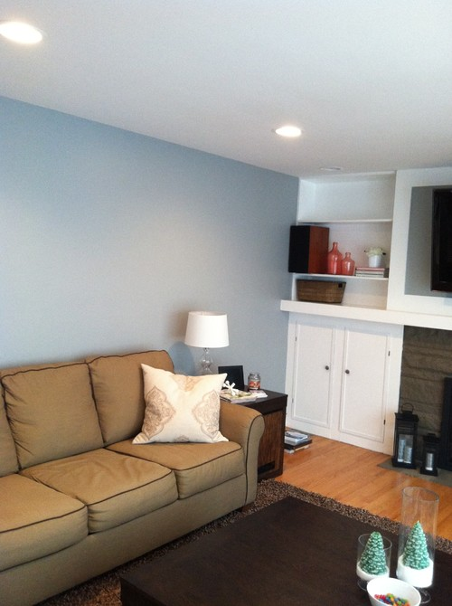 color of the walls is bm boothbay gray looks more blue