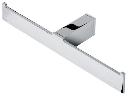 Chrome Double Spare Toilet Roll Holder Contemporary