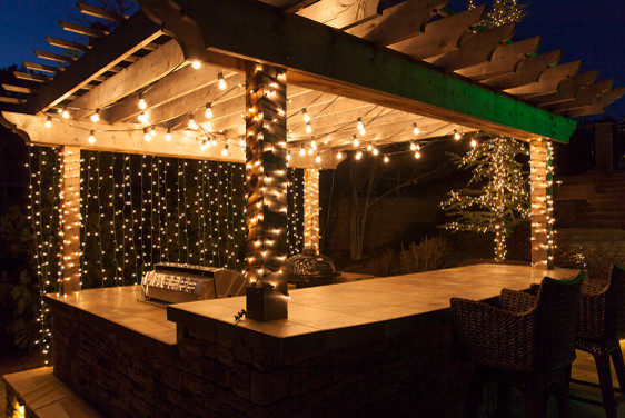 ... Garden Design With Backyard Oasis With Patio Lighting With Build A  Garden Box From Houzz.