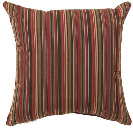 Large Square Outdoor Throw Pillow - Traditional - Outdoor Cushions And Pillows