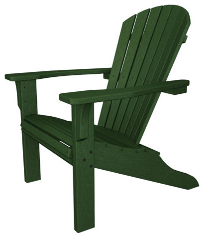 Seashell Adirondack Green Adirondack Chair Modern Adirondack Chairs By