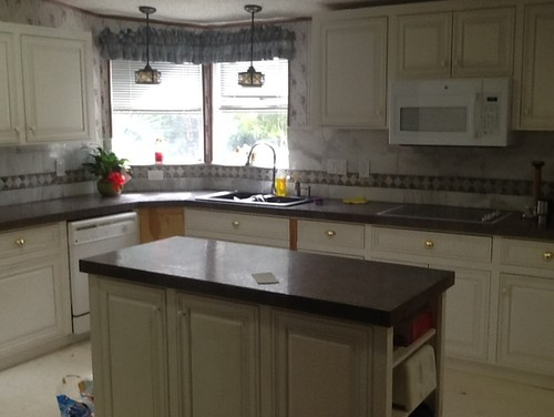 Updating Kitchen...... Marble cabinet pulls