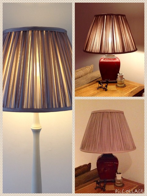 Silk Lampshades Traditional Table Lamps West Midlands By Silkworm And Cottontails T A C