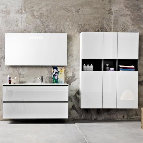 artelinea domino44 al 344 vanity set bauhaus look. Black Bedroom Furniture Sets. Home Design Ideas